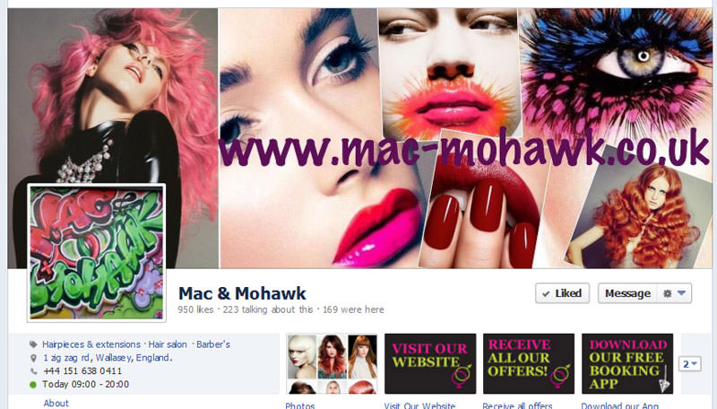 Facebook for Salons, your Page get more Fans  UK & USA