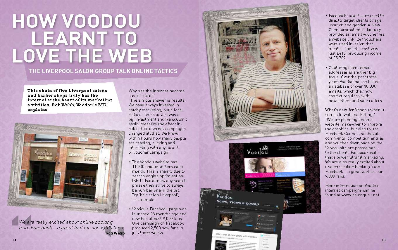 How the Voodou Salons learnt to love the Web