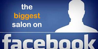 The Salon with the most facebook fans?
