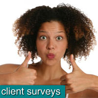 Surveys for Salon Clients