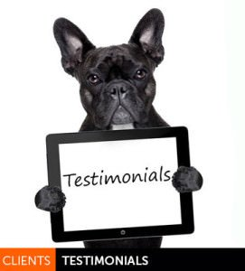 Salon Client Testimonials