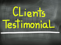salon website testimonials