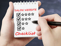 salon website design checklist