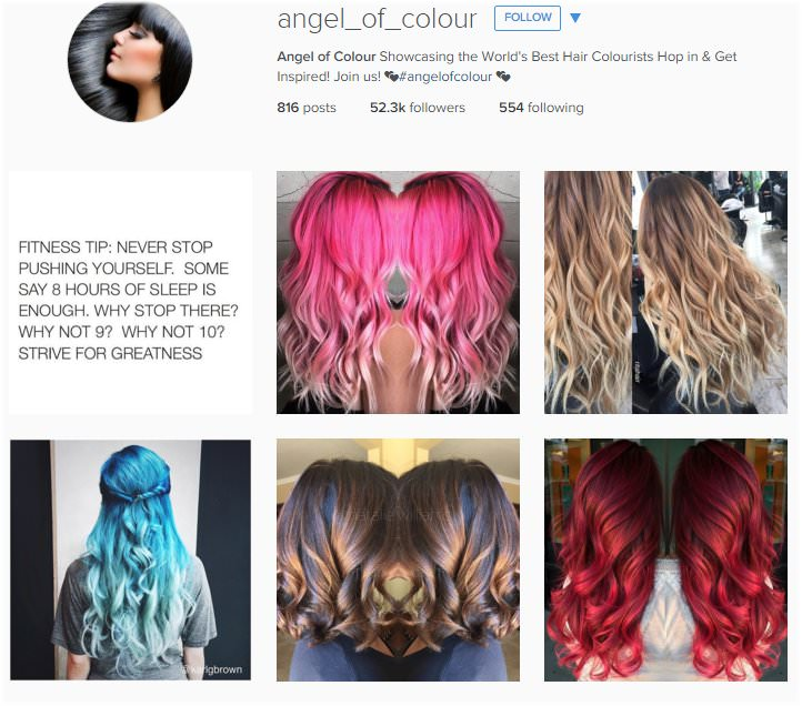 The top hair salon instagram accounts to follow bang style solutioingenieria Gallery