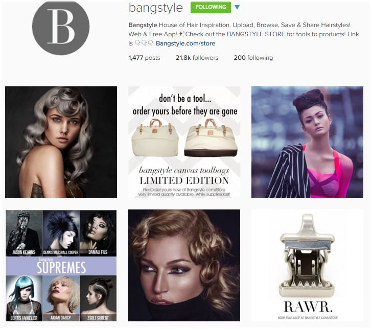 The Top Hair Salon Instagram Accounts to follow