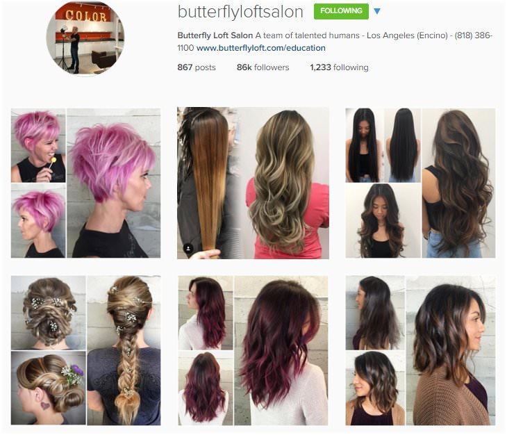 The Top Hair Salon Instagram Accounts To Follow