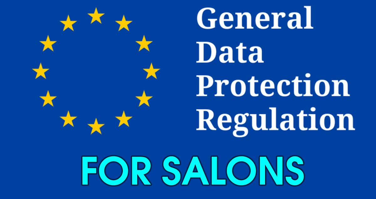 GDPR (Data Protection) and your Salon Website