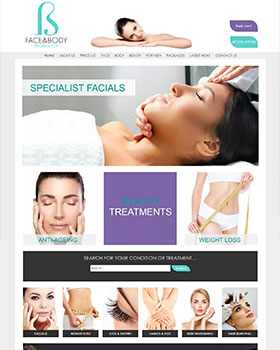 face-and-body salon