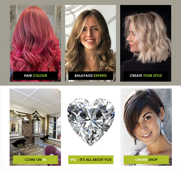 testimonial from elements hair and beauty salon in oxted